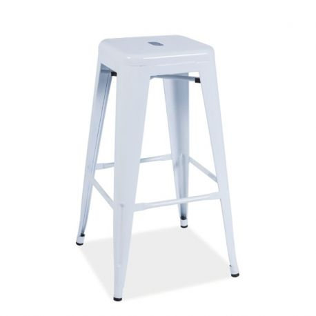 Scaune Bar - Scaun bar Long alb