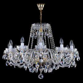 Lustre Cristal Bohemia  - Candelabru Cristal Exclusiv 12 brate