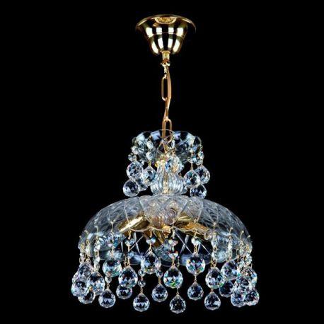 Lustre Cristal Bohemia - Pendul Cristal Exclusive diam. 30cm ELANED II. BALLS