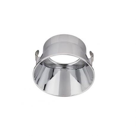 Accesorii iluminat - Inel decorativ / Reflector spoturi incastrate CRATE argintiu