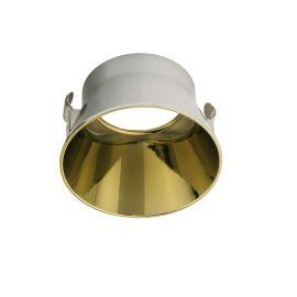Accesorii iluminat - Inel decorativ / Reflector spoturi incastrate CRATE auriu