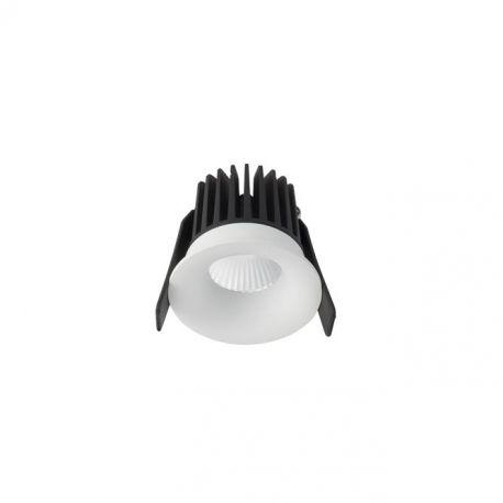 Spoturi incastrabile spatii comerciale - Spot LED incastrabil tavan fals / plafon IP42 PETIT alb