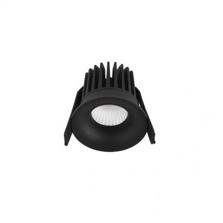Spoturi incastrabile spatii comerciale - Spot LED incastrabil tavan fals / plafon IP42 PETIT negru