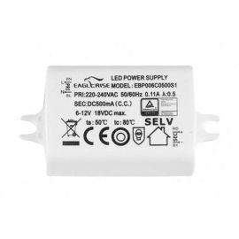 Becuri si accesorii - Driver LED 6W / 6-12V pentru spoturi LED