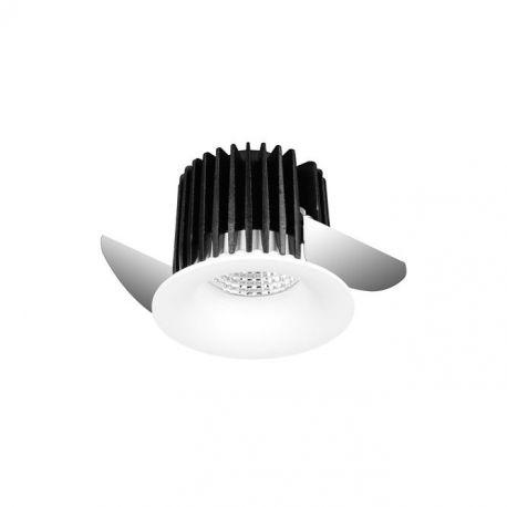 Spoturi incastrabile spatii comerciale - Spot LED incastrabil tavan fals / plafon GEMA alb