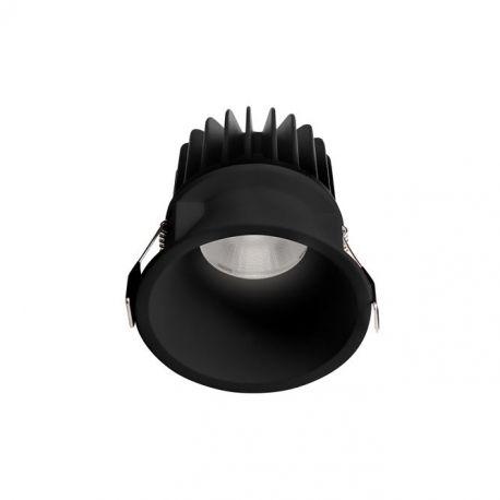 Spoturi incastrabile spatii comerciale - Spot LED incastrabil tavan fals / plafon IP54 SELENE negru