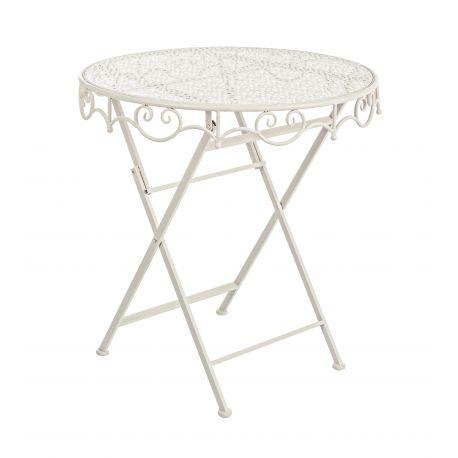 Mese dining - Masa rotunda cu design clasic GISELLE 70