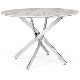 Mese dining - Masa rotunda cu design modern GEORGE 110