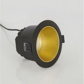 Spoturi incastrabile spatii comerciale - Spot LED incastrabil tavan fals / plafon CARPO negru