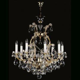 Lustre Cristal Bohemia  - Candelabru Cristal Exclusive 8 brate MARIA TEREZIA 11