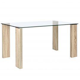 Mese dining - Masa cu design modern ARLEY 140X80 natur