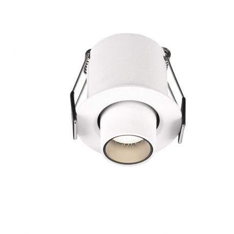 Spoturi incastrabile spatii comerciale - Mini Spot LED incastrabil ajustabil design modern DESERT alb