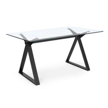Birouri - Birou cu design modern JOB negru 150x90