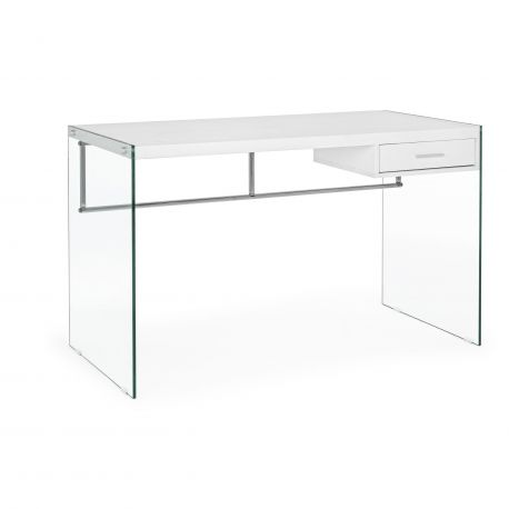 Birouri - Birou cu design modern SUAMI alb 122x60