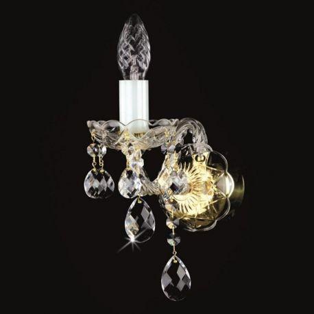 Aplice Cristal Bohemia - Aplica de perete Cristal Exclusive MIRKA I.