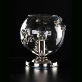 Veioze, Lampadare Cristal - Veioza design LUX decorativ PRIMAVERA 01-TL