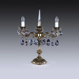 Veioze, Lampadare Cristal - Veioza, lampa de masa Cristal Exclusive SONA III.