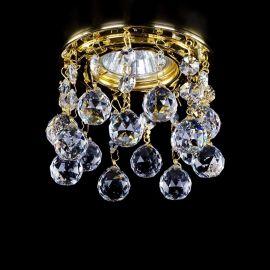 Plafoniere Cristal Bohemia - Spot tavan fals Cristal Exclusive diam.10cm SPOT 20