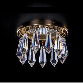 Plafoniere Cristal Bohemia - Spot tavan fals Cristal Exclusive diam.8cm SPOT 81
