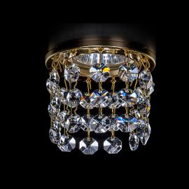 Plafoniere Cristal Bohemia - Spot tavan fals Cristal Exclusive diam.8cm SPOT 82