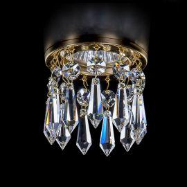 Plafoniere Cristal Bohemia - Spot tavan fals Cristal Exclusive diam.8cm SPOT 83