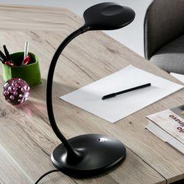 Lampa LED de birou SCOOP BLACK
