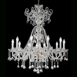 Lustre Cristal Asfour - Candelabru cu 10 brate Cristal Asfour Elegance