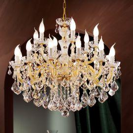 Lustre Cristal Asfour - Lustra cu 18 brate Cristal Asfour MARIA THERESA