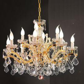 Lustre Cristal Swarovski - Candelabru cu 12 brate Cristal Swarovski Elements MARIA THERESA