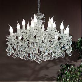 Lustre Cristal Swarovski - Candelabru cu 18 brate Cristal Swarovski Elements MARIA THERESA
