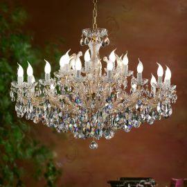 Lustre Cristal Swarovski - Candelabru cu 24 brate Cristal Swarovski Elements MARIA THERESA