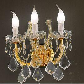 Aplica cu 3 brate design LUX Cristal Swarovski Elements MARIA THERESA