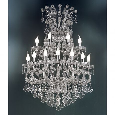Aplice Cristal Swarovski - Aplica cu 11 brate design LUX Cristal Swarovski Elements MARIA THERESA