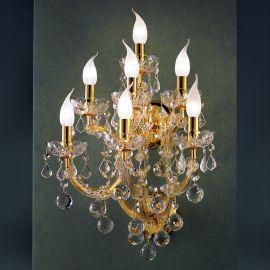 Aplice Cristal Asfour - Aplica cu 7 brate design LUX Cristal Asfour MARIA THERESA