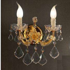 Aplice Cristal Swarovski - Aplica cu 2 brate design LUX Cristal Swarovski Elements MARIA THERESA