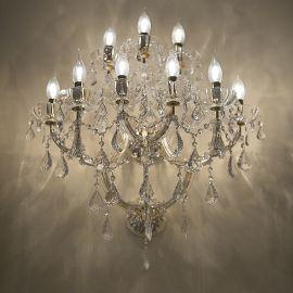 Aplica cu 9 brate design LUX Cristal Swarovski Elements MARIA THERESA