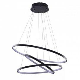 Candelabre, Lustre - Lustra LED dimabila design modern Wheel 3 neagra
