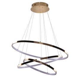 Candelabre, Lustre - Lustra LED dimabila design modern Wheel 3 auriu