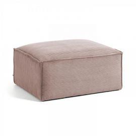 Banchete-Tabureti - Taburete, suport pentru picioare Blok 90x70 velveteen roz
