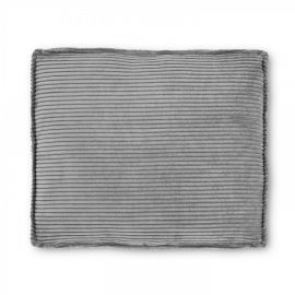 Perne si fete de perne - Perna Blok 60x70cm velveteen gri