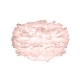 Pendule, Lustre suspendate - Abajur modern cu pene de gasca EOS mini roz, 35cm
