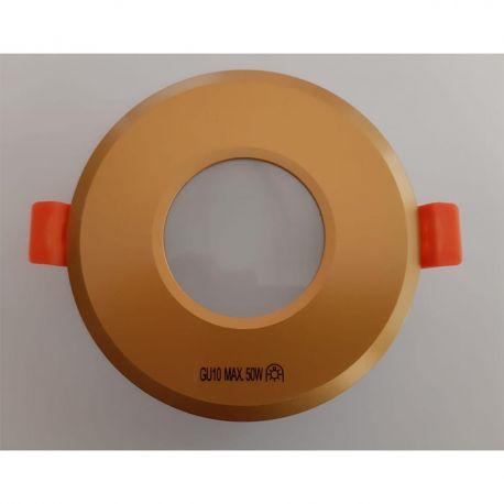 Iluminat pentru baie - Spot pentru baie incastrabil OSCAR auriu
