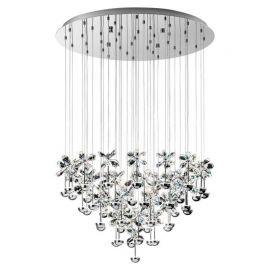 Lustre aplicate - Lustra LED design modern cu cristale, diametru 78cm, PIANOPOLI