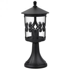 Stalpi  - Stalp de exterior clasic, negru, inaltime 36,6cm, Palma