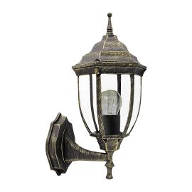 Aplice - Aplica pentru iluminat exterior IP43, up light, auriu antic Nizza
