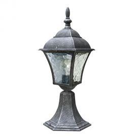 Stalpi  - Stalp pentru iluminat exterior H-41,5cm, IP43, argintiu antic Toscana