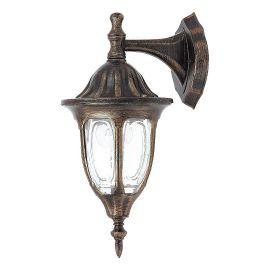 Aplice - Aplica pentru iluminat exterior IP43, down light, auriu antic Milano
