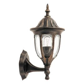 Aplice - Aplica pentru iluminat exterior IP43, up light, auriu antic Milano