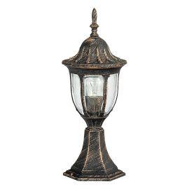 Stalpi  - Stalp pentru iluminat exterior H-43cm, IP43, auriu antic Milano