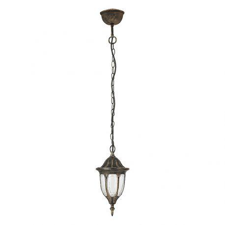 Pendule - Pendul pentru iluminat exterior, inaltime reglabila, IP43, auriu antic, Milano